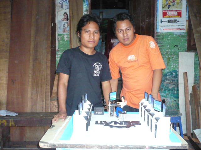 trabajo fin de curso con jovenes de San Pedro Pescador