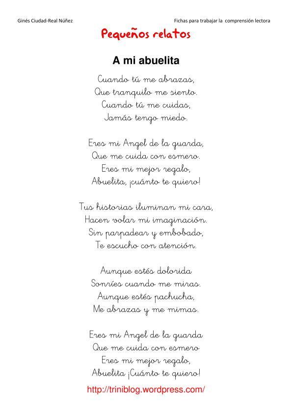 poema para la abuela