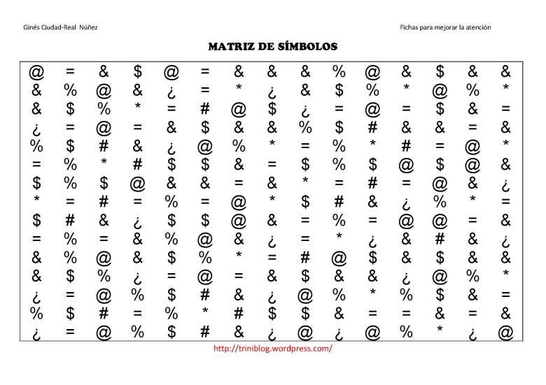 matriz de SIMBOLOS- nivel II_Página_01