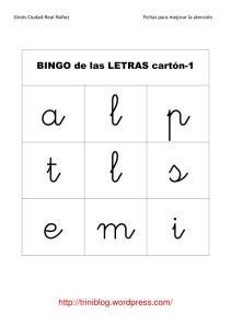 carton letras