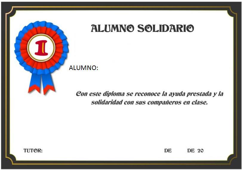 diplomas reconocimiento: