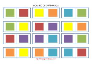 domino cuadrados