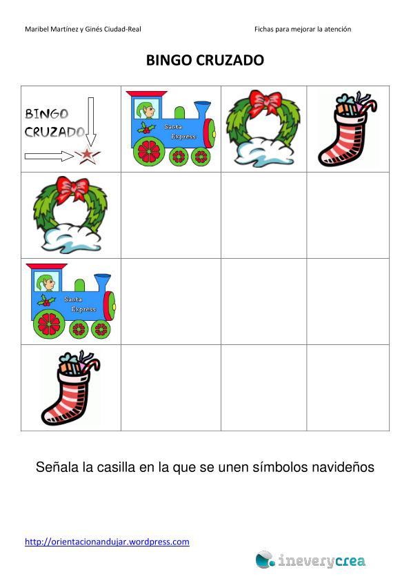 10 Bingos Cruzados especial Navidad para ineveryCrea - Inevery Crea