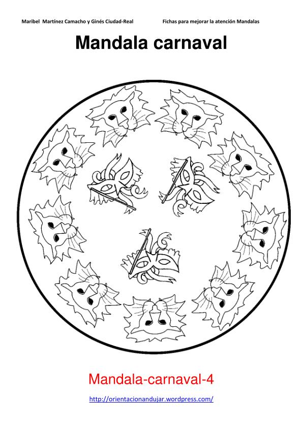 Orientaci n and jar mandalas de carnaval - Mandala carnaval ...